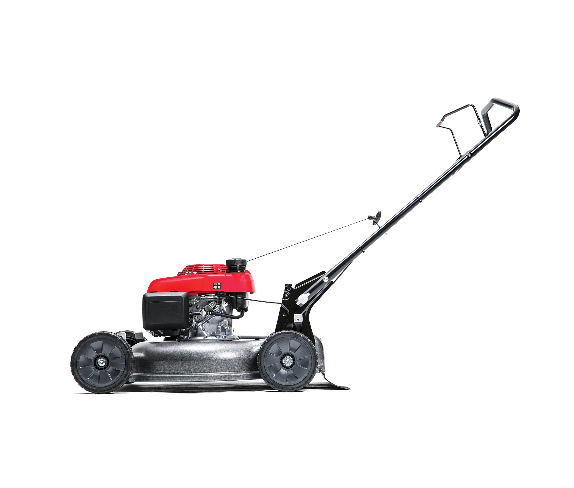 Image of the HRR MicroCut Rear-Bag Lawn Mower